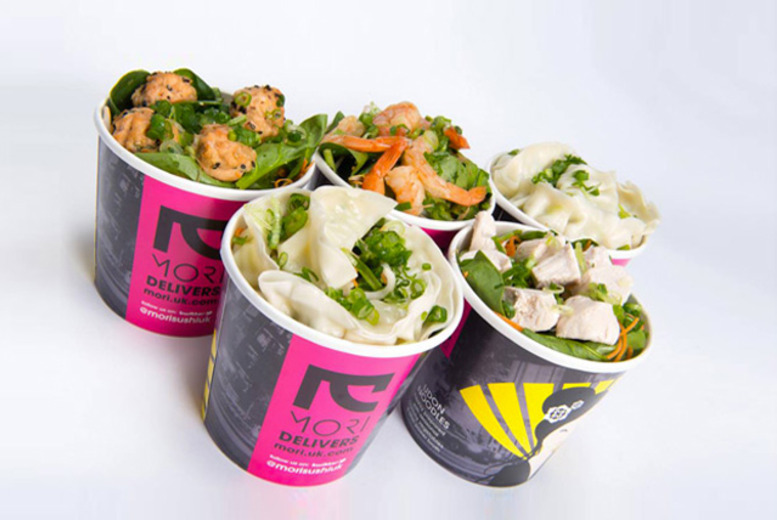£4 for an udon noodles box from Mori - choose from 4 London locations!