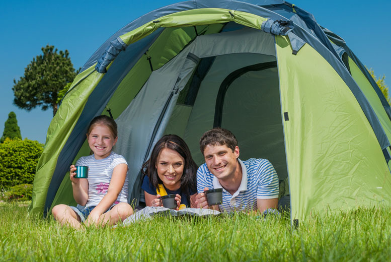 From £9 for a one-night camping break, or from £18 for two nights at Medi Spa UK, Sheffield
