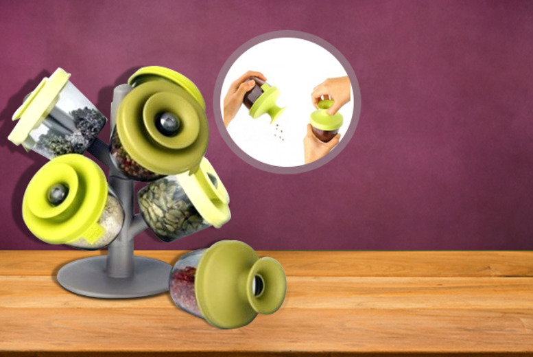 £6.99 instead of £29.99 (from Zoozio) for a pop-up spice rack - save 77%