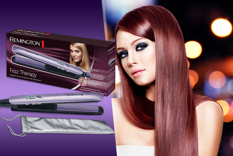 £29.99 instead of up to £79.01 (from Wowcher Direct) for a Remington® Frizz Control Therapy 230 straightener - save 62%