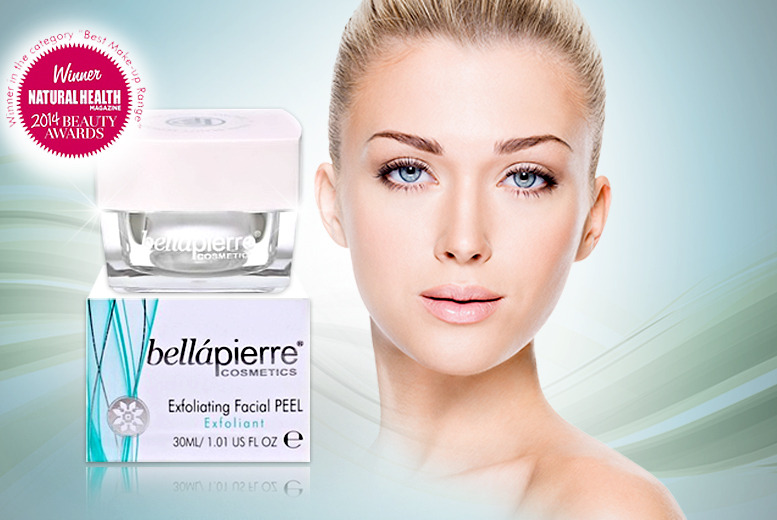 £9.99 instead of £35 (from bellàpierre cosmetics) for a 30ml pot of exfoliating peel off facial masque - save 71%