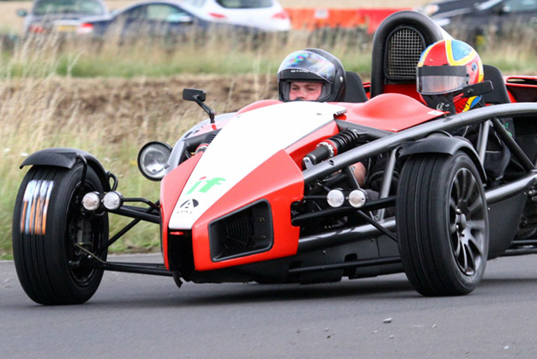 £39 instead of £99 for a four lap Ariel Atom driving experience with certificate from Driving Gift - choose from Derby or York locations and save 61%