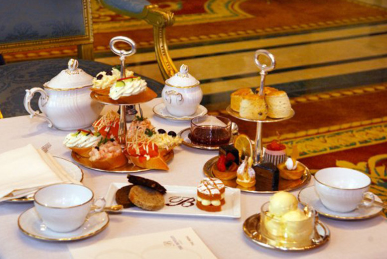From £39 instead of £70 for a Champagne afternoon tea for 2 at The Bentley Hotel, Kensington - save up to 44%