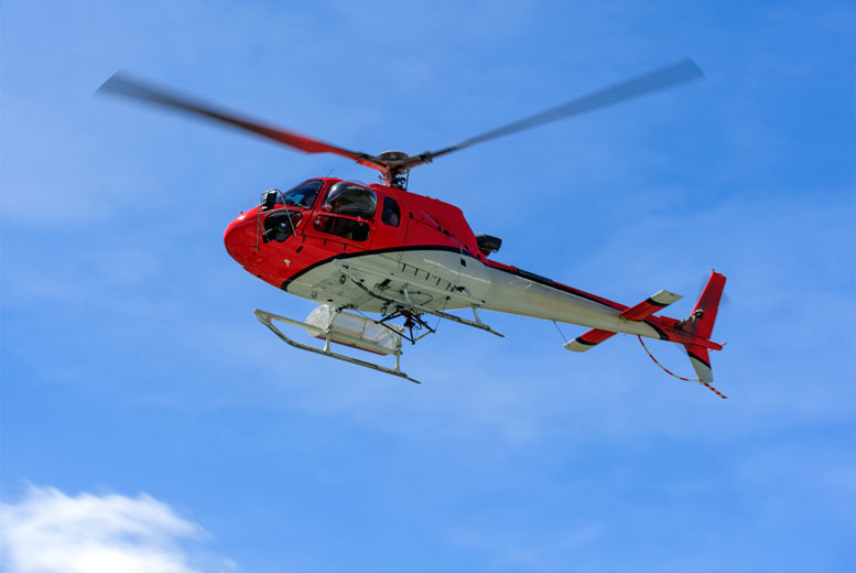 £39 for a helicopter buzz flight, £59 for a pleasure flight, from £99 for a 20-min sightseeing flight or from £139 for a 30-min sightseeing flight - save up to 44%