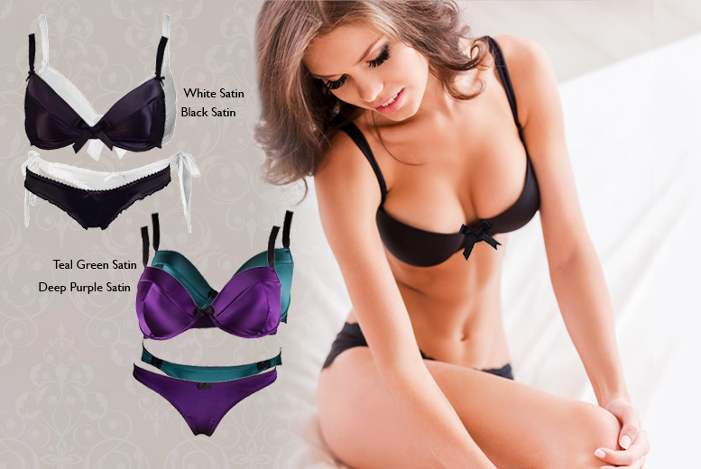 £9.99 instead of £41.50 (from Luxe Fashion) for a 2-piece lingerie set in a choice of 8 designs - save a sultry 76%