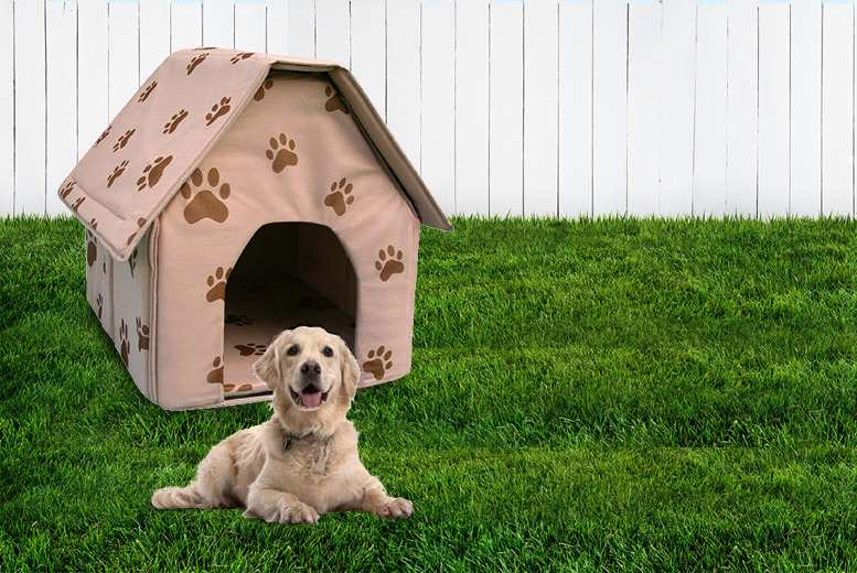 £9.99 instead of £21 (from Cost Mad) for a portable pet house - save 52%