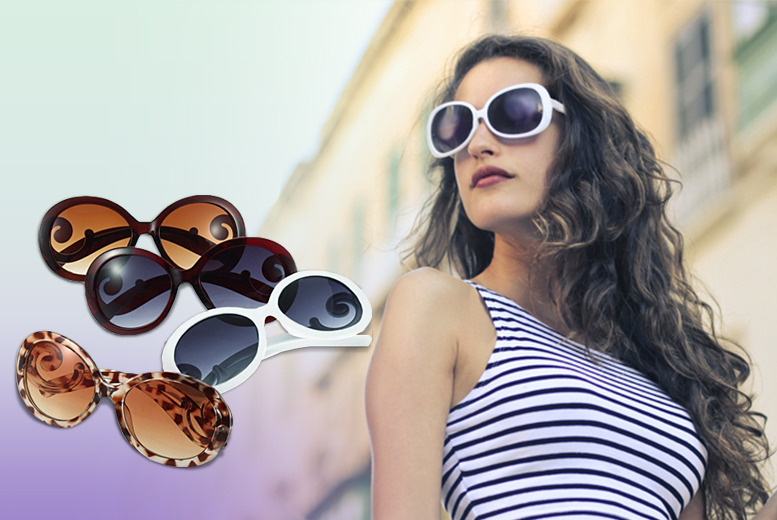 £5 instead of £49.99 (from Marcus Emporium) for a pair of round retro sunglasses in a choice of four styles - save a sunny 90%