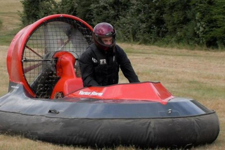 £35 for a 90-minute on-land hovercraft experience for one person, £69.50 for two people with High Cross Hovercraft - save up to 56%