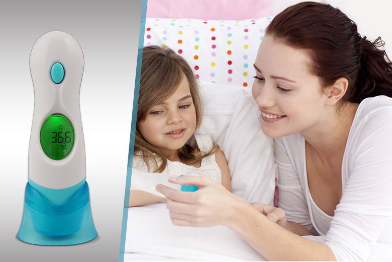 £18.99 instead of £49.99 (from Rock-a-by Baby) for an infrared baby thermometer - save 62%