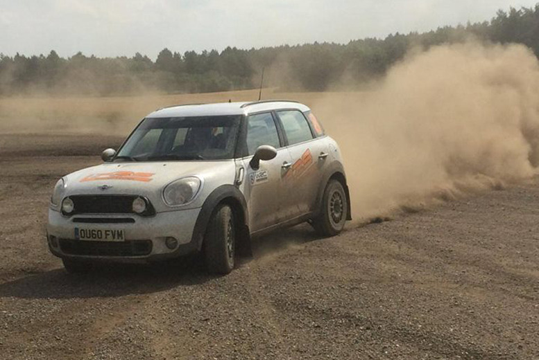 £99 for a 15-lap half-day rally driving experience inc. passenger lap with a pro driver at Langley Park Rally School, Saffron Walden - save up to 72%