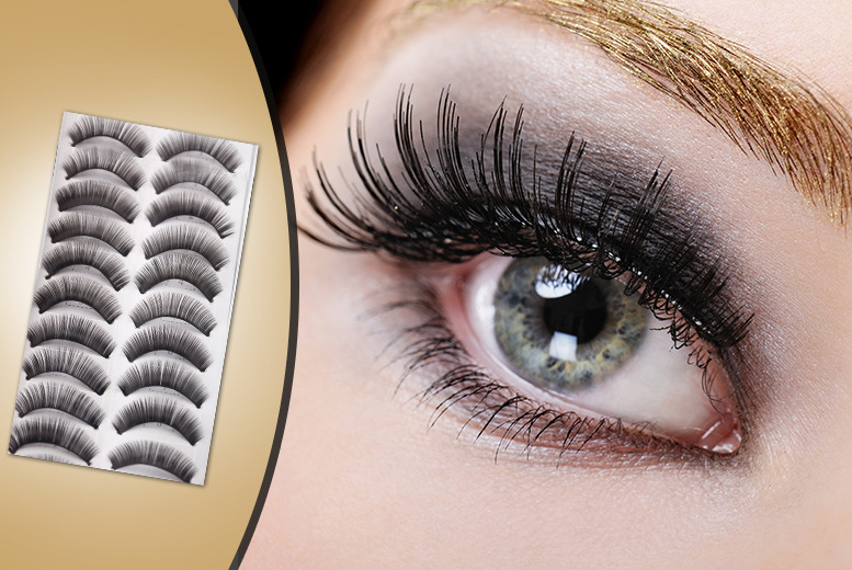 20 Pairs of Reusable False Lashes - National Deal, Special 1...