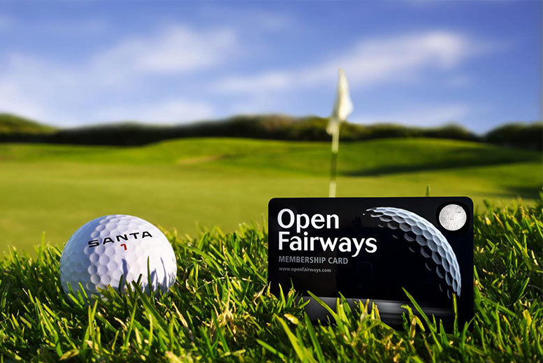 £25 for a 12-month Open Fairways multi-privilege membership with two magazines - enjoy savings at over 1300 premier golf courses worldwide and save 74%