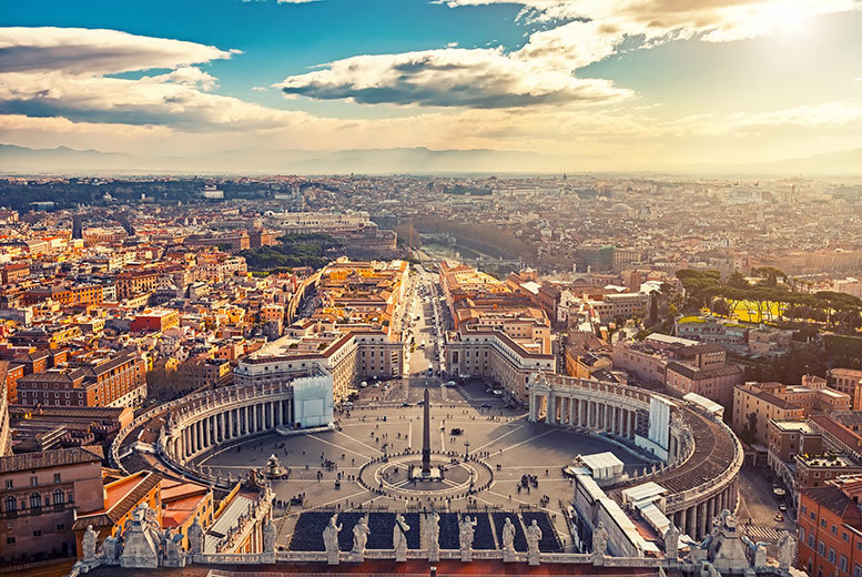 From £59pp instead of up to £96.40pp (from Cheap Cost Holidays) for a two-night Rome break with flights - save up to 39%