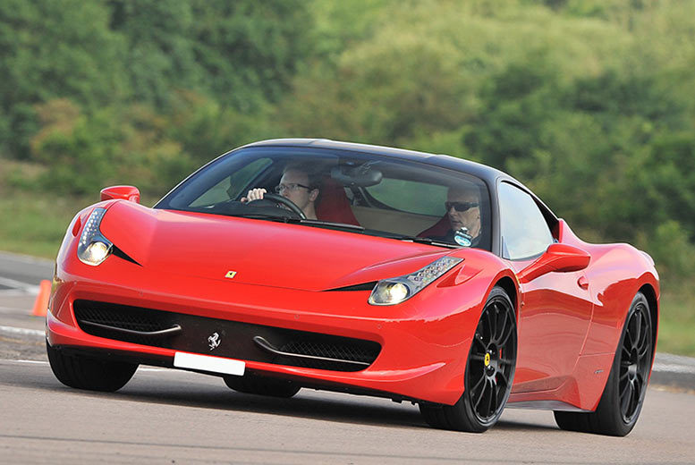 £74 instead of up to £119 for an up to one-hour Ferrari driving experience at a choice of over 10 locations from Activity Superstore - save 38%