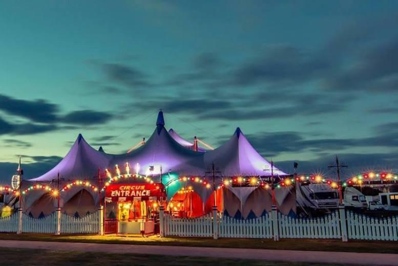 £7.50 instead of up to £15 for a front circle ticket to Billy Smart's Circus, Stratford-Upon-Avon - save up to 50%