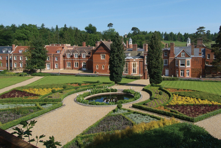 £109 for an overnight stay for 2 including a 2-course dinner, wine and late check-out at Wotton House plus tickets to Denbies Wine Estate - save up to 53%