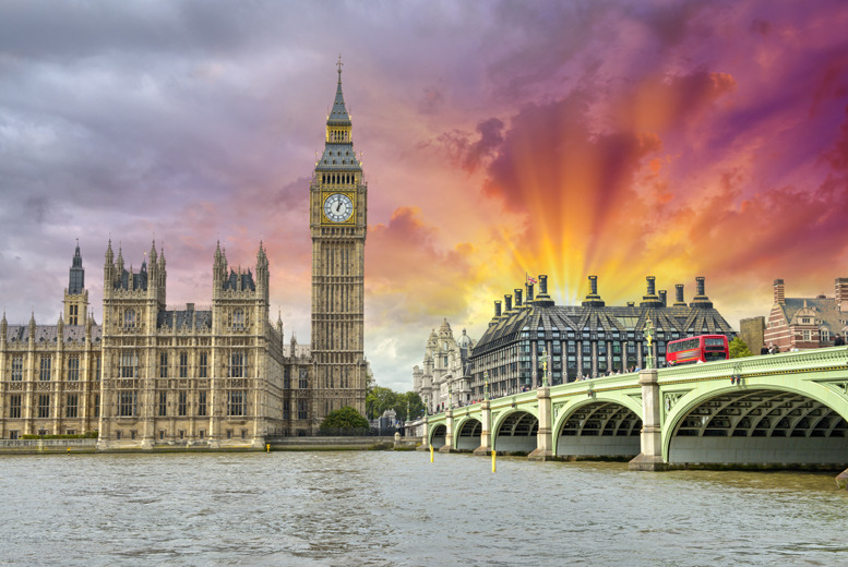 £99pp (from The Omega Holiday Group) for a 1nt 4* London hotel stay for 2 inc. return train from over 100 destinations, or £149pp for a 2nt stay!