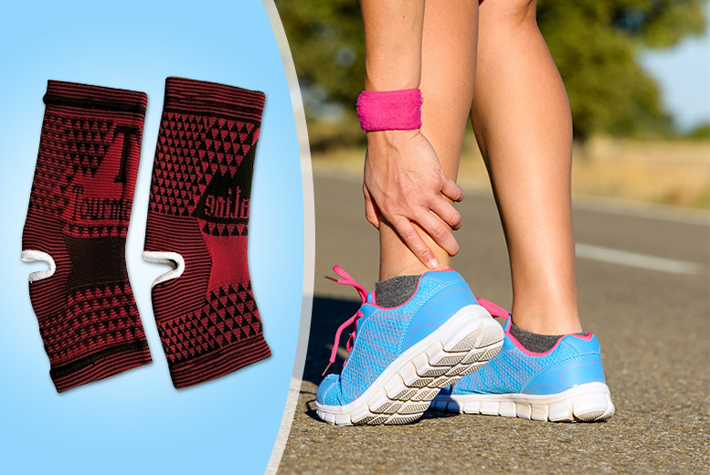 £7.99 instead of £35.99 (from Aneeks) for a thermal magnetic 'ankle support' with tourmaline self-heating padding - save 78%