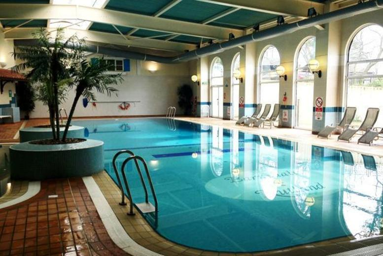 £55 instead of up to £120 for a leisure day with floatation therapy treatment and lunch for two at Barnsdale Hall Hotel, Rutland - save up to 54%