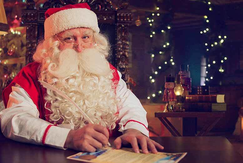 From £7 instead of £12.99 for a personalised video message from Santa for one child, or £8 for two or three children from Elfi Santa - save up to 46%