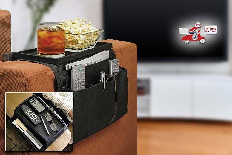 £4.99 instead of £18 (from Vivo Mounts) for a six-pocket sofa armrest organiser, or £8.99 for two - save 72%