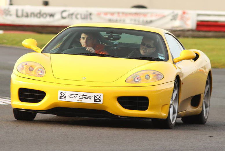 £39 for a weekday three-lap Ferrari driving experience, or £49 for a weekend experience with Supercar Test Drives - choose from six locations and save up to 74%