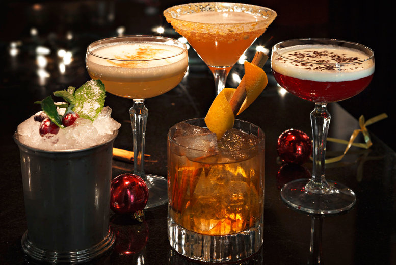 £12 instead of up to £24.80 for two luxury Christmas cocktails with mini mince pies and petits fours at 29 Private Members Club, Glasgow - save up to 52%