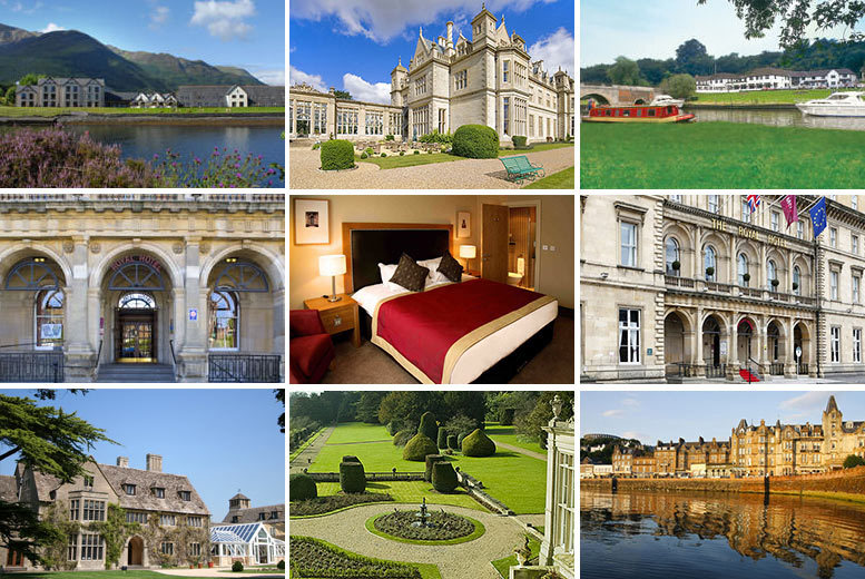 From £89 (from Buyagift) for a choice of two-night UK breaks for two people including breakfast - choice of over 100 UK destinations!