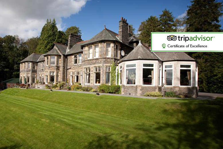 From £89 for an overnight stay for two with cream tea or Windermere cruise tickets, or from £159 for two-nights at Merewood Country House Hotel - save up to 52%