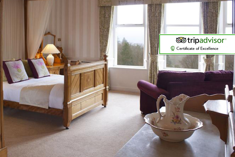 From £89 for an overnight stay for two with cream tea or Windermere cruise tickets, or from £159 for two-nights at Merewood Country House Hotel - save up to 49%