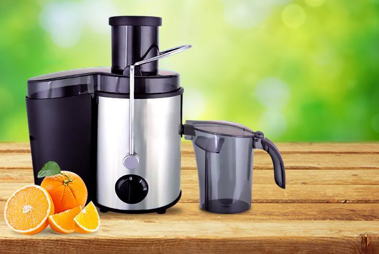 £29.99 instead of £81 (from Product Mania) for a 500W Vortex power juicer - get a juicy deal and save 63%