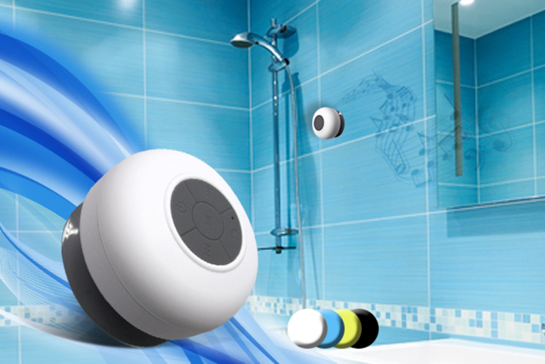 £12.99 instead of £29.99 (from Eurosfield) for a Bluetooth shower speaker - choose from 4 colours and save 57%