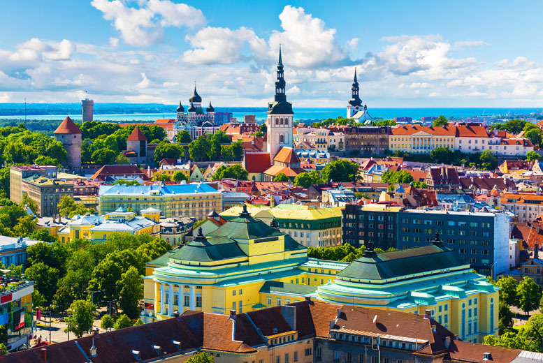 From £99pp instead of up to £143.65pp (from Major Travel) for a 3nt break to Tallinn, Estonia inc. flights & breakfast – save up to 31%