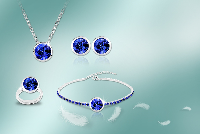 £8 instead of £40 (from Cian Jewels) for a crystal ring, necklace, earrings or bracelet made with Swarovski Elements, £19 for all 4 - save up to 80%