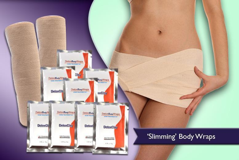£12.99 (from Eden Organic Care) for a set of reusable 'detox' body wraps, or £19.99 including 10 additional clay sachets - save up to 84%