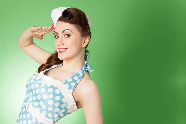 £19 for a vintage experience day inc. photoshoot, bubbly and chocolates, or £29 for 2 people at HMS Vintage, Manchester – save up to 84%
