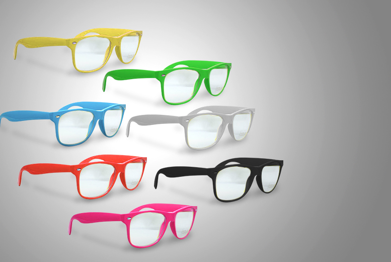 £5 instead of £20 (from Alvi's Fashion) for a pair of geek glasses in a choice of 7 colours, £8 for 2 pairs - save up to 75%