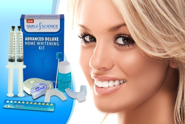 £18.98 instead of £129 (from Smile Science) for a peroxide-free deluxe home teeth whitening kit - save 85%