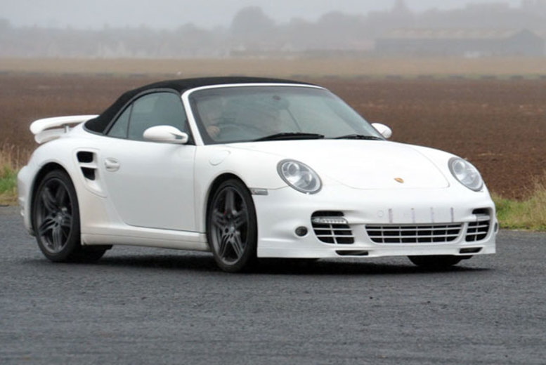 £89 for a 4 lap Porsche vs. Lotus Driving Experience at a choice of 3 locations with Supercars Scotland