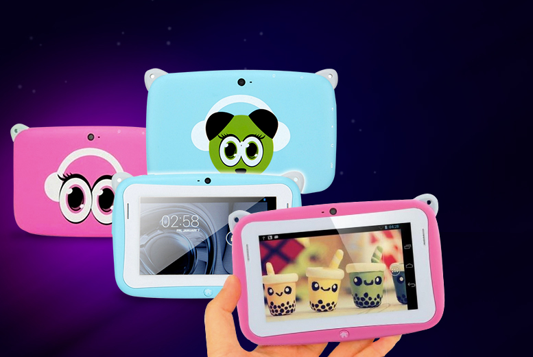 "£19.99 instead of £99.99 (from First Kid Shop) for a 4.3"" touch screen children's panda tablet - save 80%"