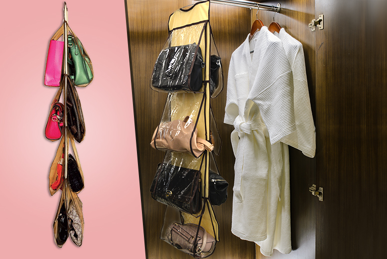 £7 instead of £17 (from Zoozio) for an 8-pocket hanging handbag organiser - save 59%
