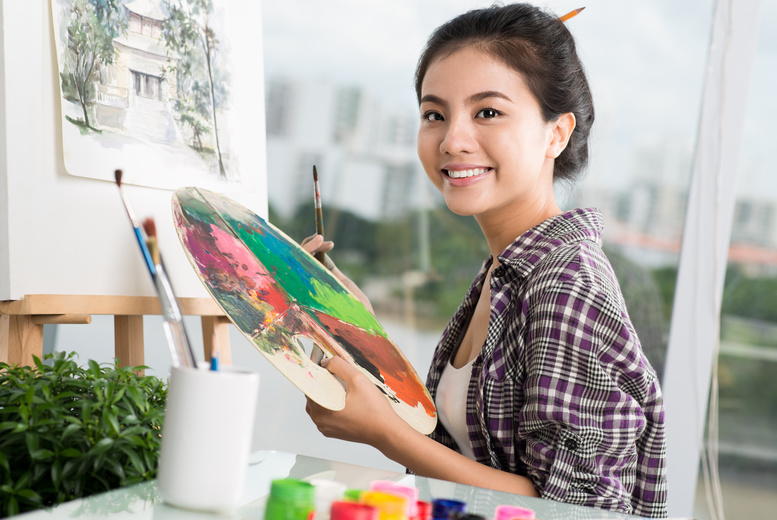 £5 instead of up to £19.75 for a choice of art class from The Independent Art School, 3 locations – save up to 75%