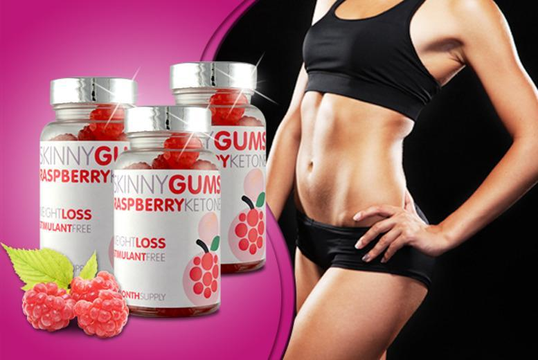 £9 (from GB Supplement) for a 1-month* supply of raspberry ketone 'skinny gums', or £14 for a 3-month* supply - save up to 77% + DELIVERY INCLUDED