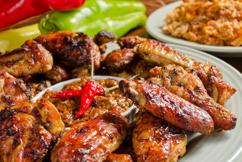 £19 instead of up to £46.80 for a 2-course Caribbean meal for 2 including a glass of Prosecco each at Bojangles Brasserie - save up to 59%