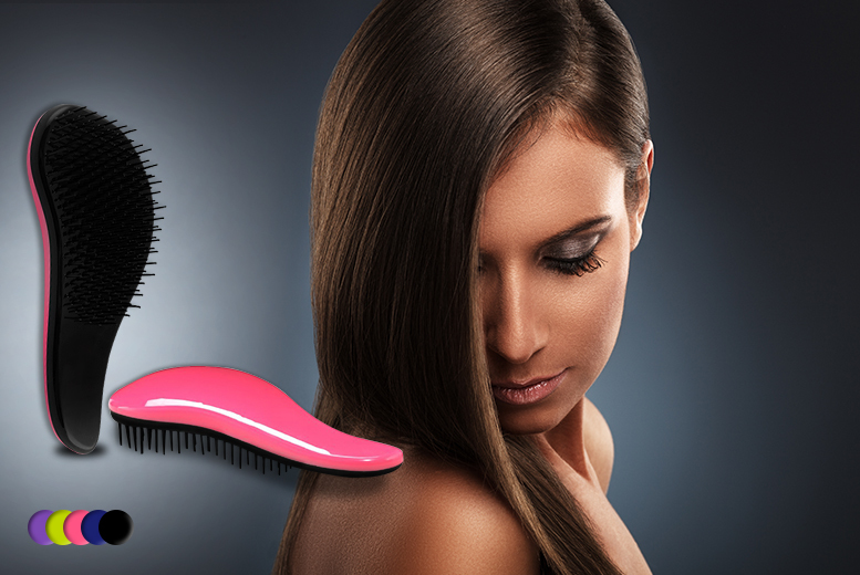 £6 instead of £24.99 (from Blushlook) for a detangle brush in a choice of colours or £10 for 2 - save up to 76%