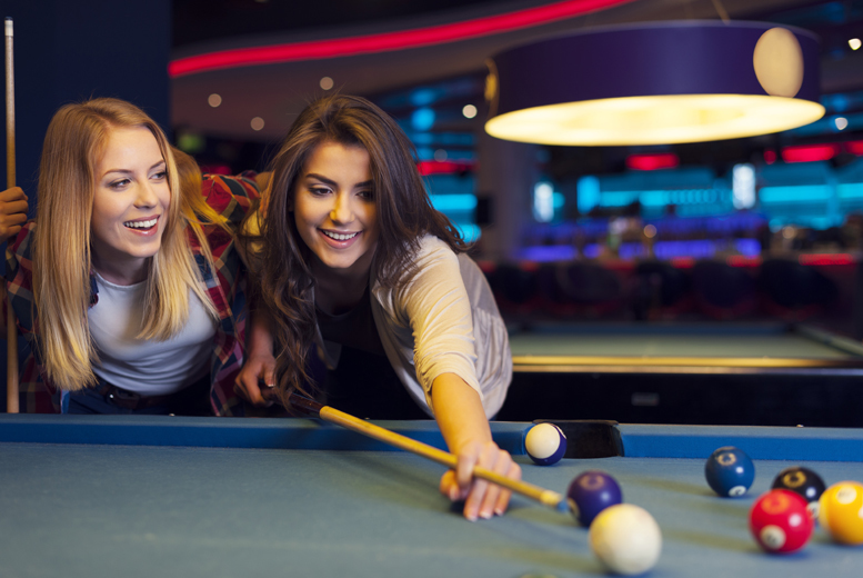 £10 instead of up to £22.25 for 2 hours of pool or snooker and a pizza for 2 at The Ball Room, Edinburgh - save up to 55%