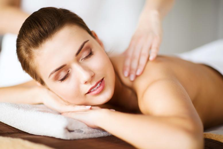 £22 for a 1hr pamper package with three 20-min treatments or a hot stone massage, £39 for 2 people with Jasmin Olivia, Stoke on Trent - save up to 51%