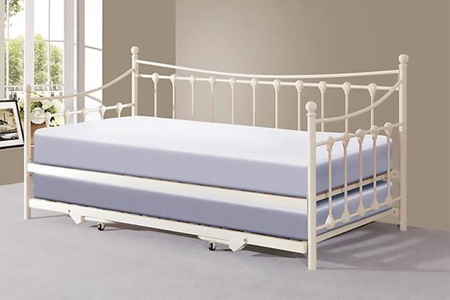 Ontario Day Bed With Trundle 2 Colours Shop Wowcher