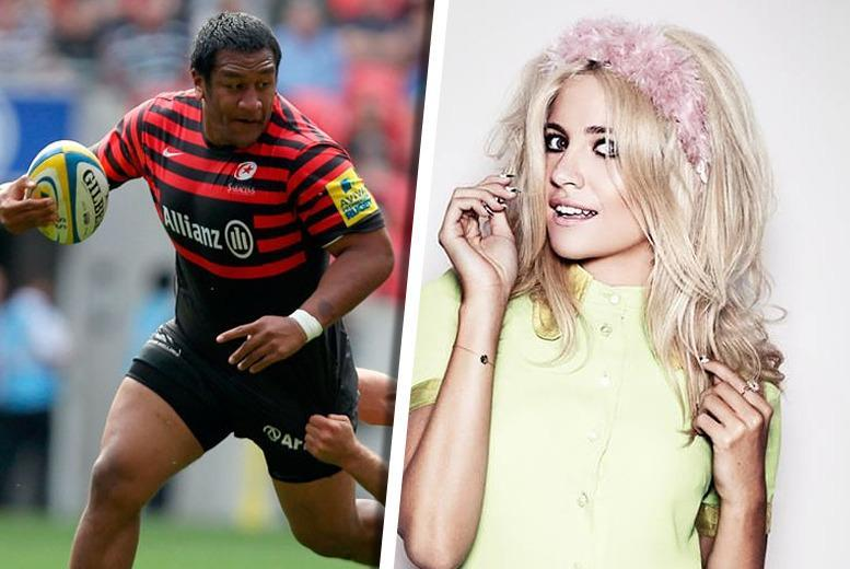 £5 (child ticket) or £13 (adult ticket) to see Saracens vs. Harlequins at Wembley Stadium on 28th March 2015 with halftime entertainment from Pixie Lott!