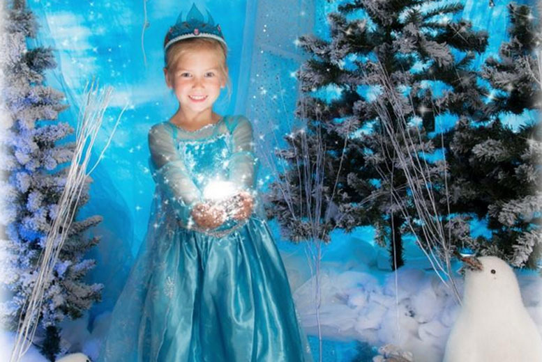 £9 instead of up to £84.99 for a Frozen-inspired ice princess photoshoot and A3 print for up to 3 at Jason Walker Photography Studio – save up to 89%